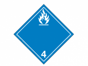 Hazard Class 4.3 - Water Reactive Substances, Rigi
